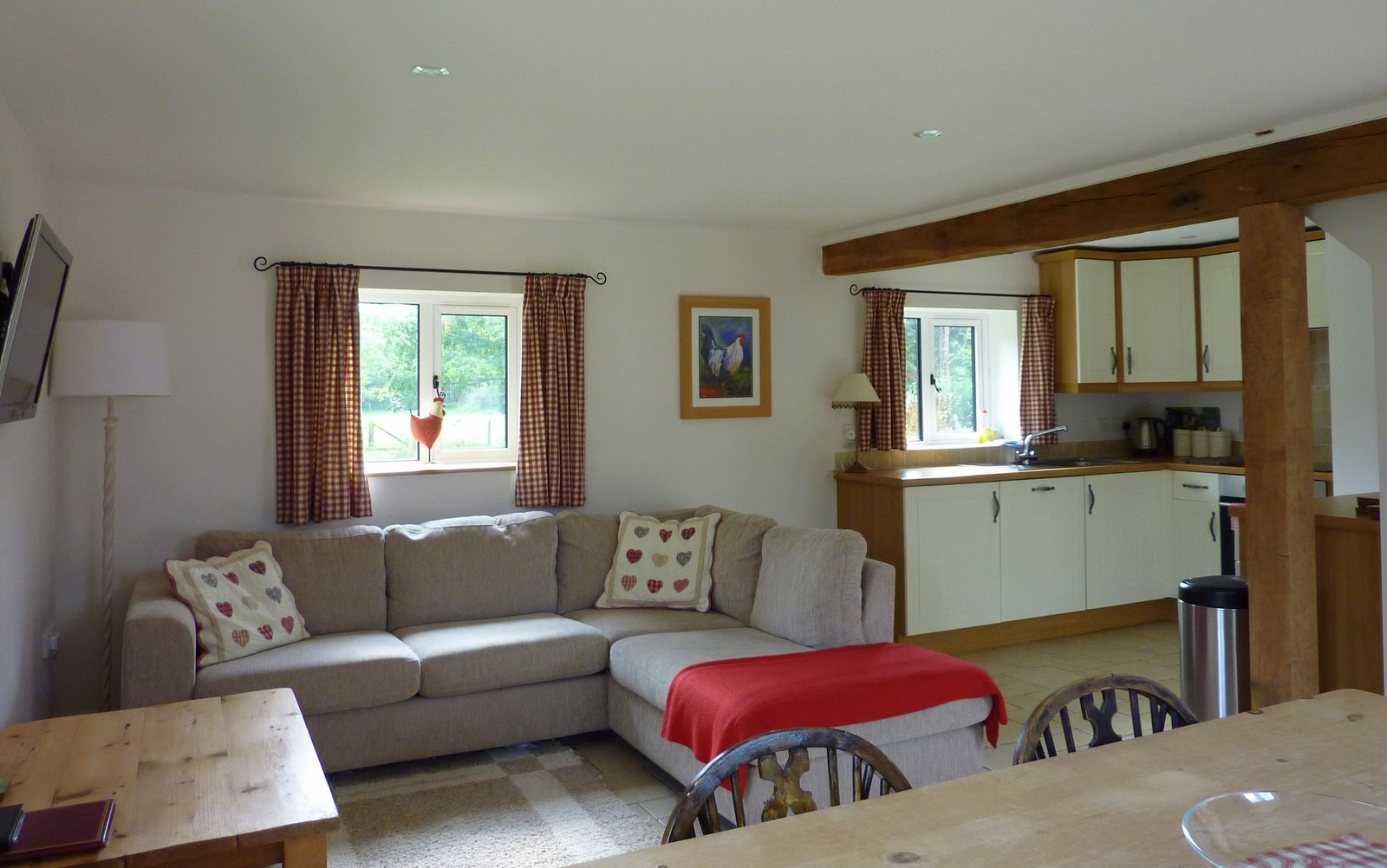 Pyesmead Farm self catering - Hayloft - lounge