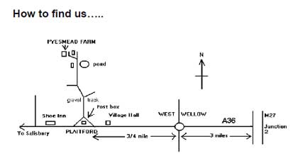 Pyesmad Farm location map
